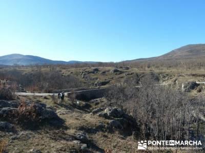 Puentes Medievales, Valle del Lozoya - Senderismo Madrid; rutas senderismo gredos